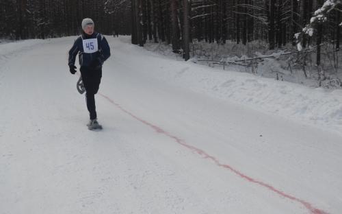 соревнования  на  снегоступах